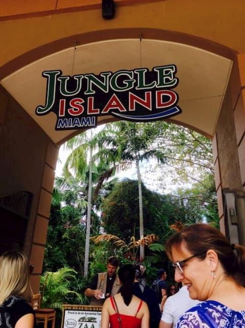Jungle Island ở Miami