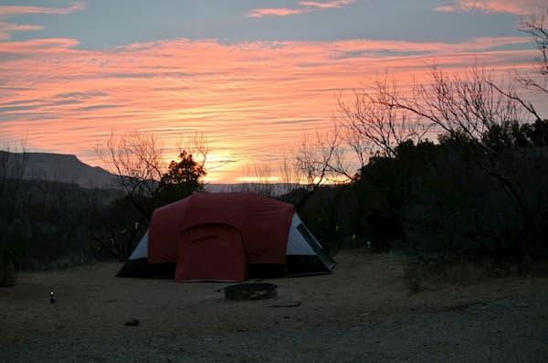Cắm trại ở Palo Duro Canyon