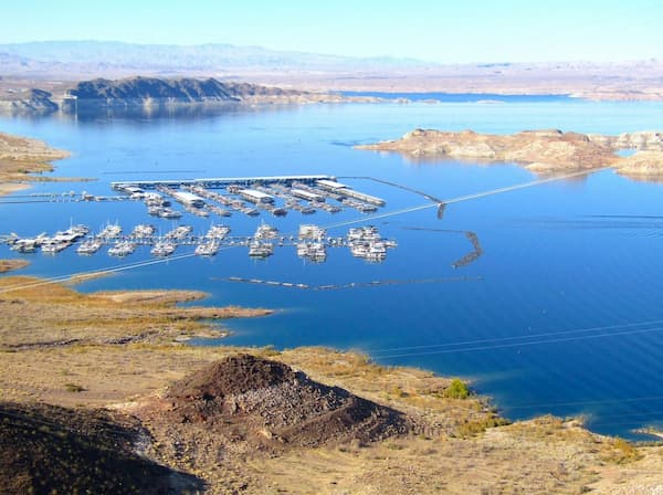 Toàn cảnh hồ Mead