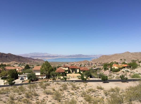Những ngôi nhà ở Lake Mead
